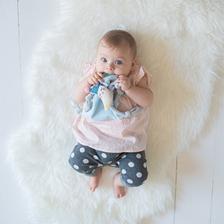 Hochet en forme de lune Taf Toys