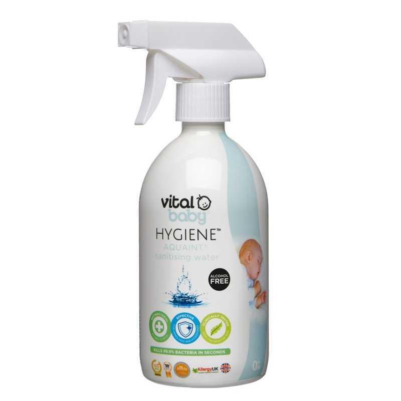 Eau Nettoyante et désinfectante Aquaint 500 ml Vital baby