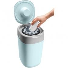 Poubelle à Couches Sangenic Twist & Click Bleue + 1 recharge