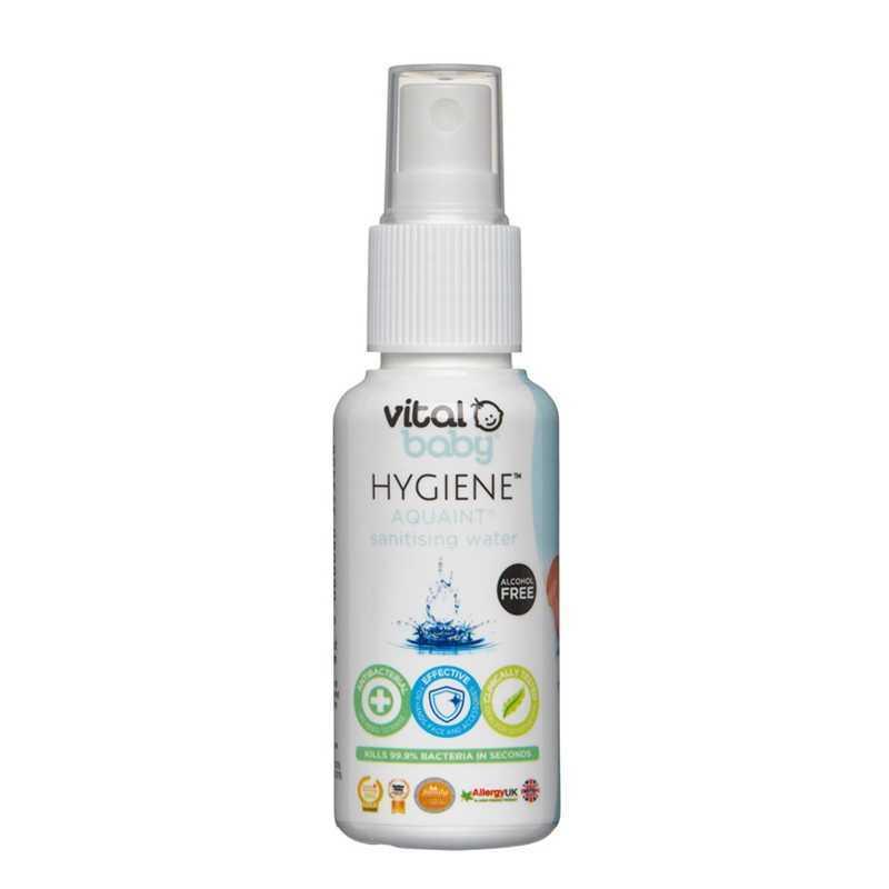 Eau Nettoyante et désinfectante Aquaint 50 ml Vital baby