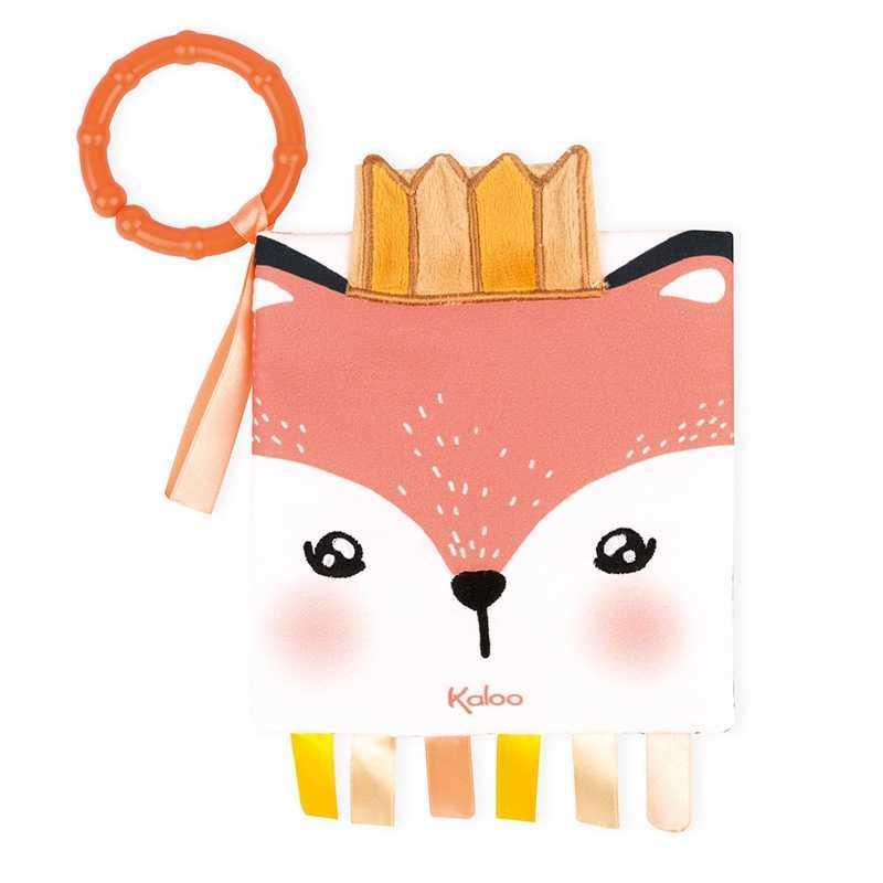 """Livre d'activités """"Le renard en colère"""" Kaloo"""