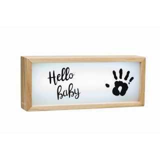 Collection en bois avec empreinte Baby Art