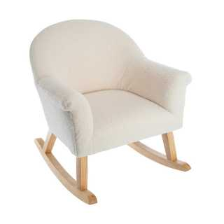 Fauteuil à bascule enfant moumoutte Atmosphera for kids