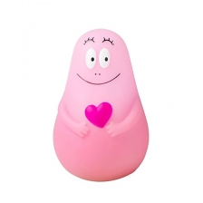 Veilleuse Lumilove Barbapapa Rose Pabobo