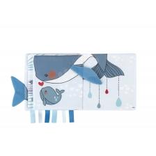 Livre d'activités Baleine triste Kaloo