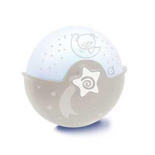 Veilleuse Projecto Lampe Infantino Taupe