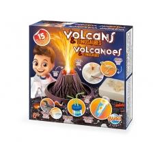 Volcans & Dinosaures 15 expériences Buki