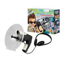 Amplificateur sonore avec casque inclus Buki