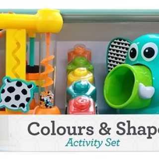 Coffret d'activité formes et couleurs Infantino