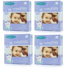 Lot de 200 sachets de conservation de lait maternel Lansinoh