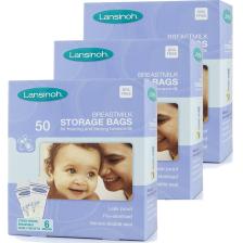 Lot de 150 sachets de conservation de lait maternel Lansinoh