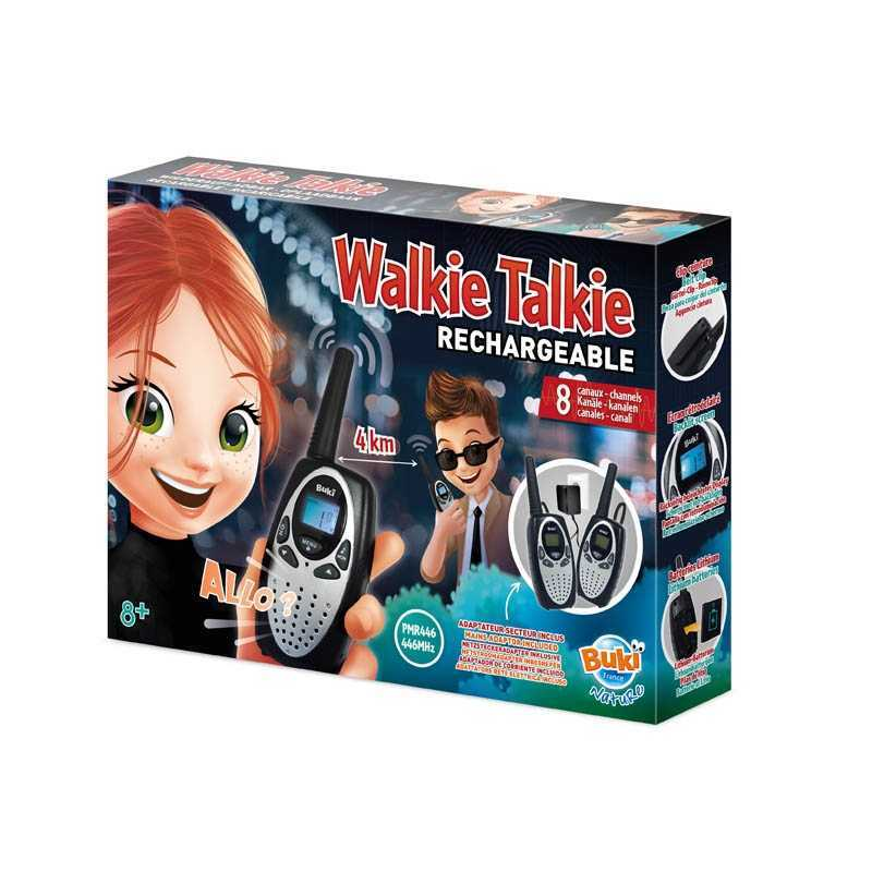 Walkie Talkie Rechargeable Buki