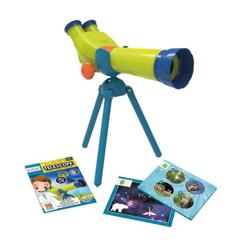 Mini sciences Télescope Binoculaire Buki