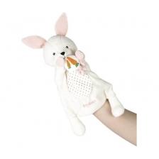Peluche Marionnette Robin le lapin Kaloo