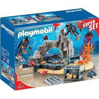 Unité De Plongée Tactique Playmobil