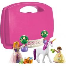 Princesse & Licorne boîtier de transport Playmobil