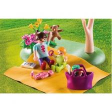 Pique-Nique en Famille Boîtier de transport Playmobil