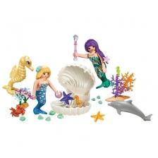 Sirène et ses amis sous-marins Boîtier de transport Playmobil