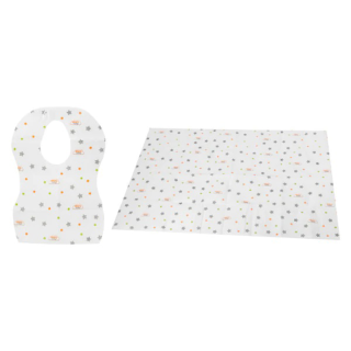 Vital Baby Mum On the Go 3 Bavoirs jetables + Tapis de rechange jetable