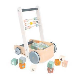 Chariot de marche Cubes ABC Sweet Cocoon Janod