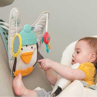 Pingouin Lisez et Kick de voiture Taf toys