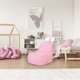 Fauteuil Poire Enfant Rose Ted Home Deco Kids