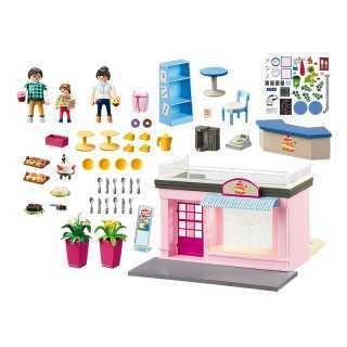 Mon Petit Café Playmobil City