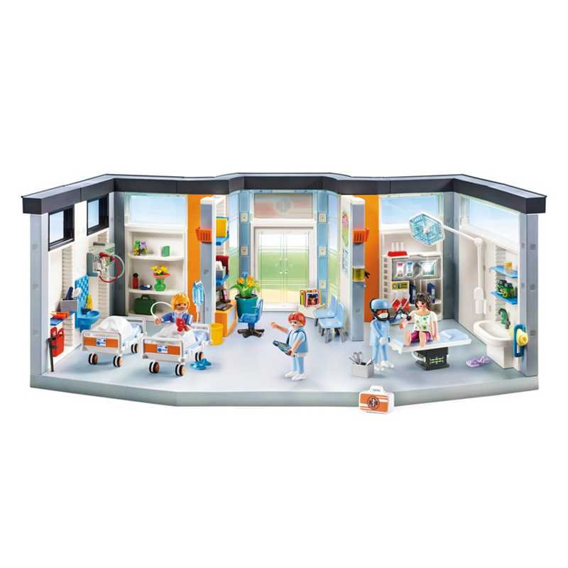 Aile d'hôpital Playmobil City