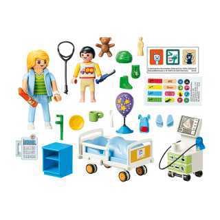 Chambre D'hôpital pour enfants Playmobil City