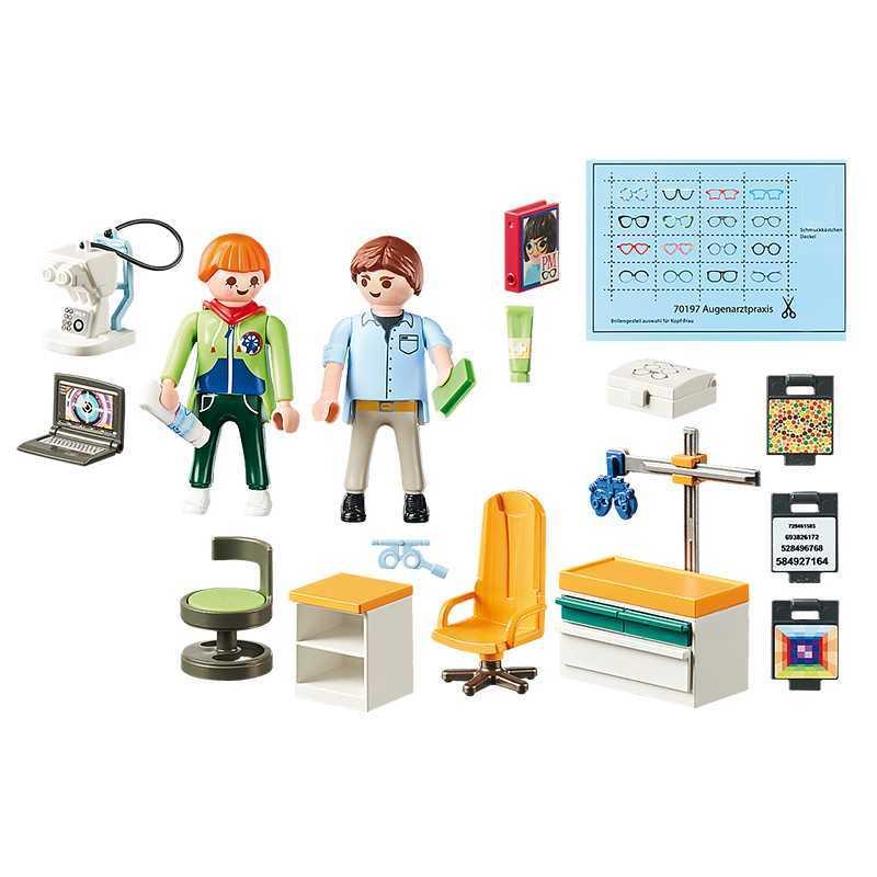 Opticien avec équipement optique Playmobil City