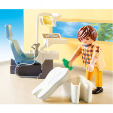 Dentiste avec équipement dentaire Playmobil City