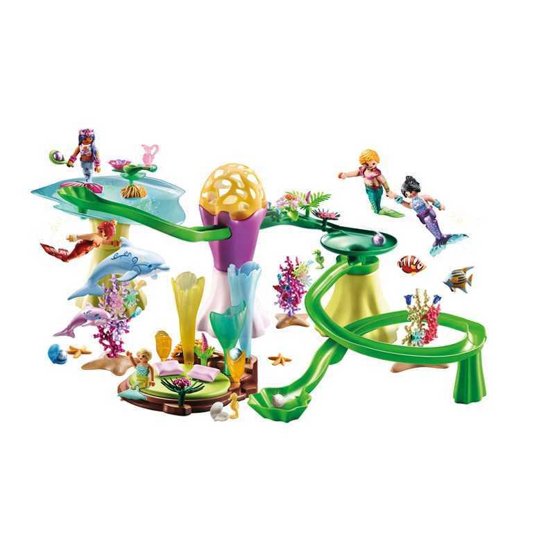 Aventures sous marines avec les sirènes et leurs amis Playmobil