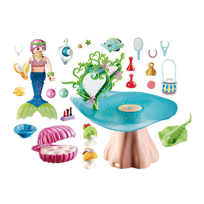 Salon de beauté pour Sirène Playmobil