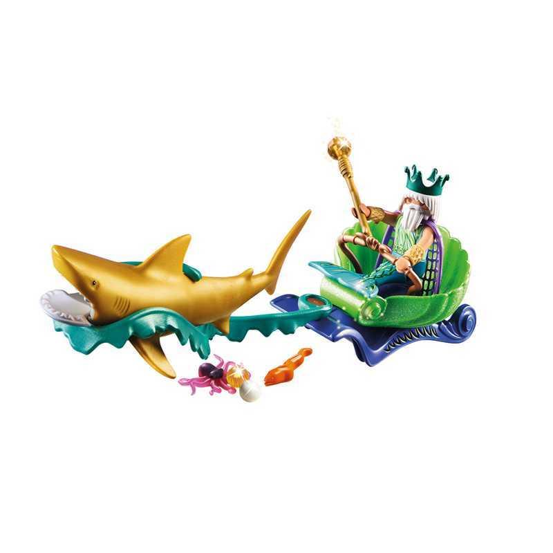La Calèche du Roi De La Mer Playmobil