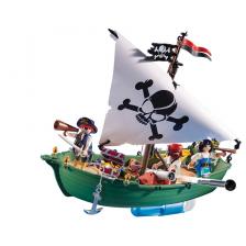 Navire Pirate avec moteur sous-marin Playmobil