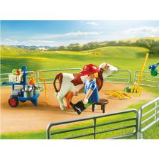 Ferme avec Animaux Playmobil