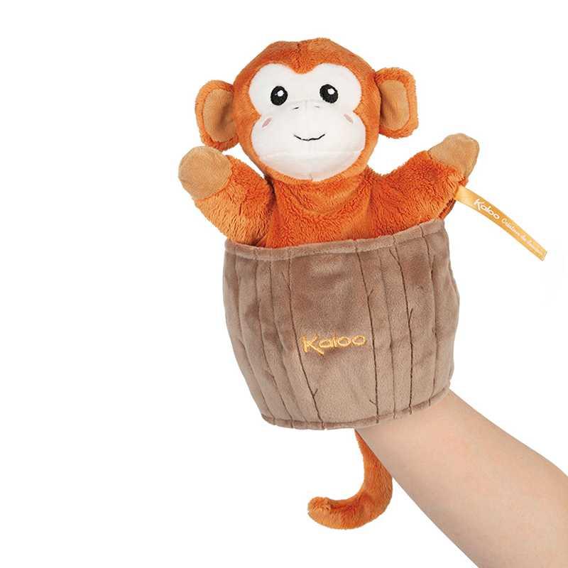 Peluche Marionnette Singe Surprise Kaloo