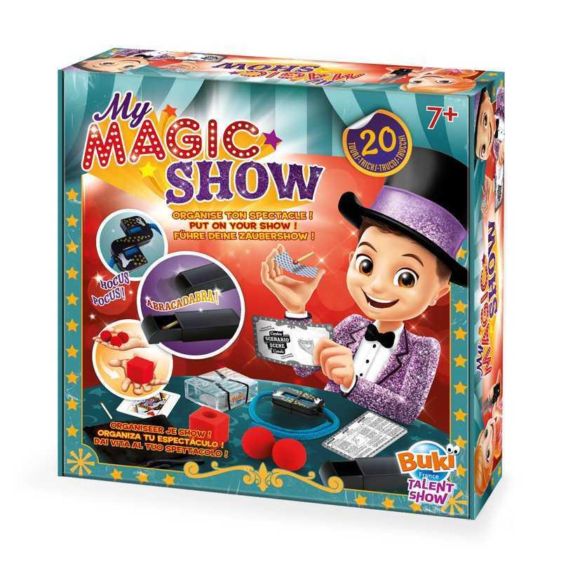 Mon Spectacle Magique 20 tours de magie Buki