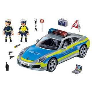 Porsche 911 Carrera 4S Police Playmobil