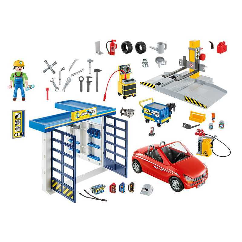 Garage automobile Playmobil City