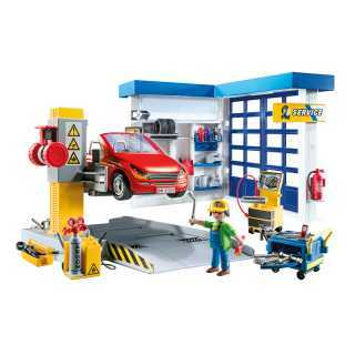 Garage automobile Playmobil City