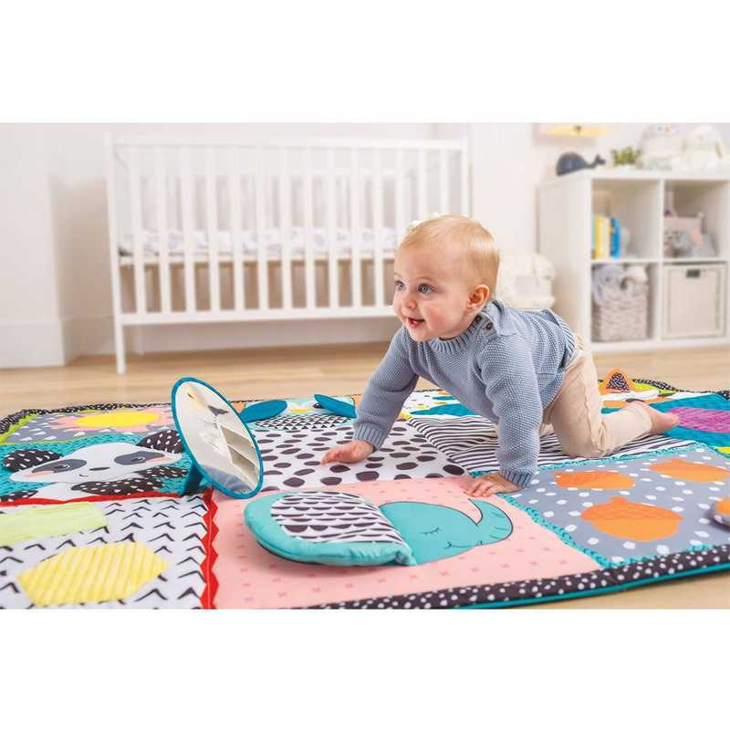 Tapis de jeu multi-activités sensoriel Infantino