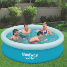 "Piscine ronde gonflable ""Fast Set"" Bestway"