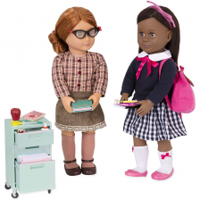 Matériel d'école pour poupées Our Generation