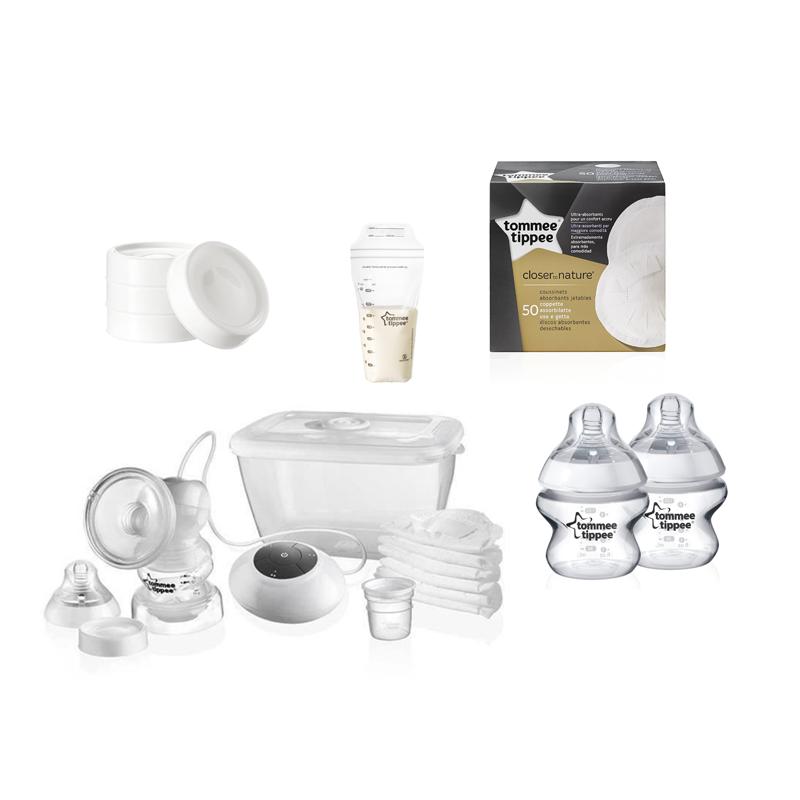 Tommee Tippee Kit allaitement avec tire-lait électrique
