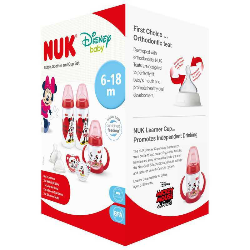 Ensemble de démarrage Minnie Mouse NUK