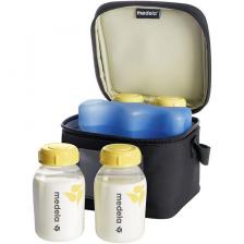 Mini sac isotherme pour 4 biberons Medela
