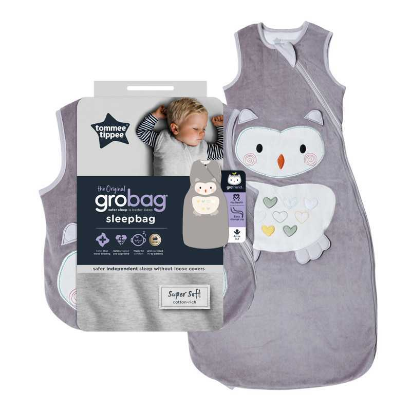 Sac De Couchage Grobag 2.5 TOG Ollie La Chouette 18-36m Tommee Tippee