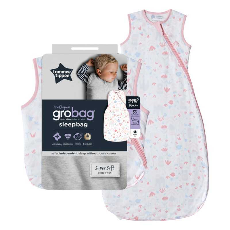 Sac De Couchage Grobag 2.5 TOG Fôret Florale 18-36m Tommee Tippee