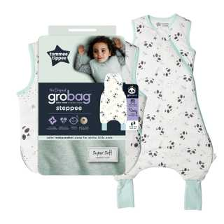Sac de Couchage Grobag Steppee 2.5 TOG Petit Panda 18-36m Tommee Tippee